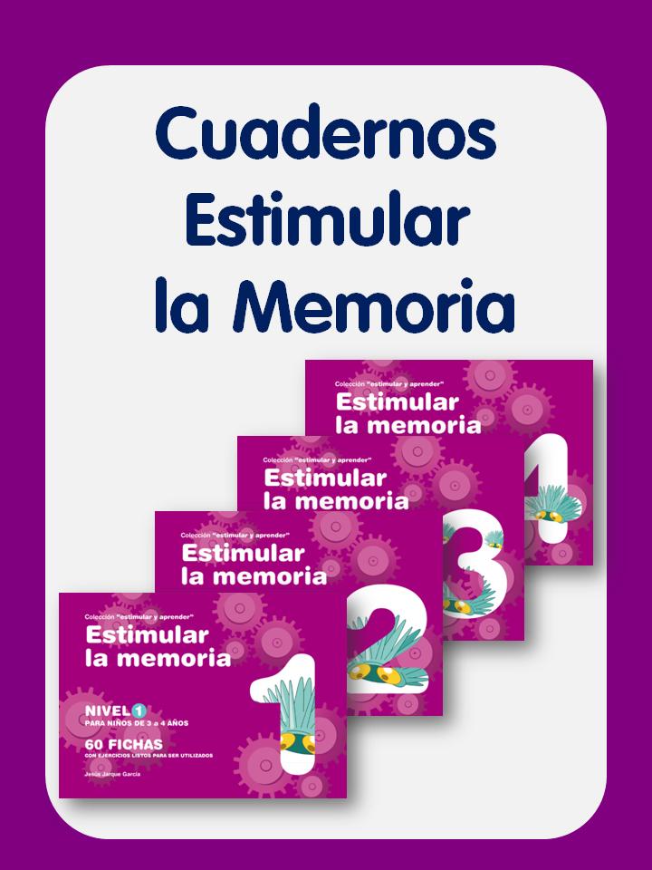 Cuadernos Estimular la Memoria