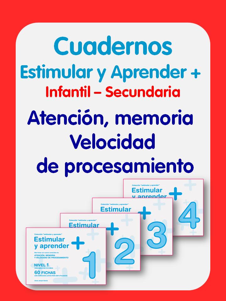 Cuadernos Estimular y aprender +