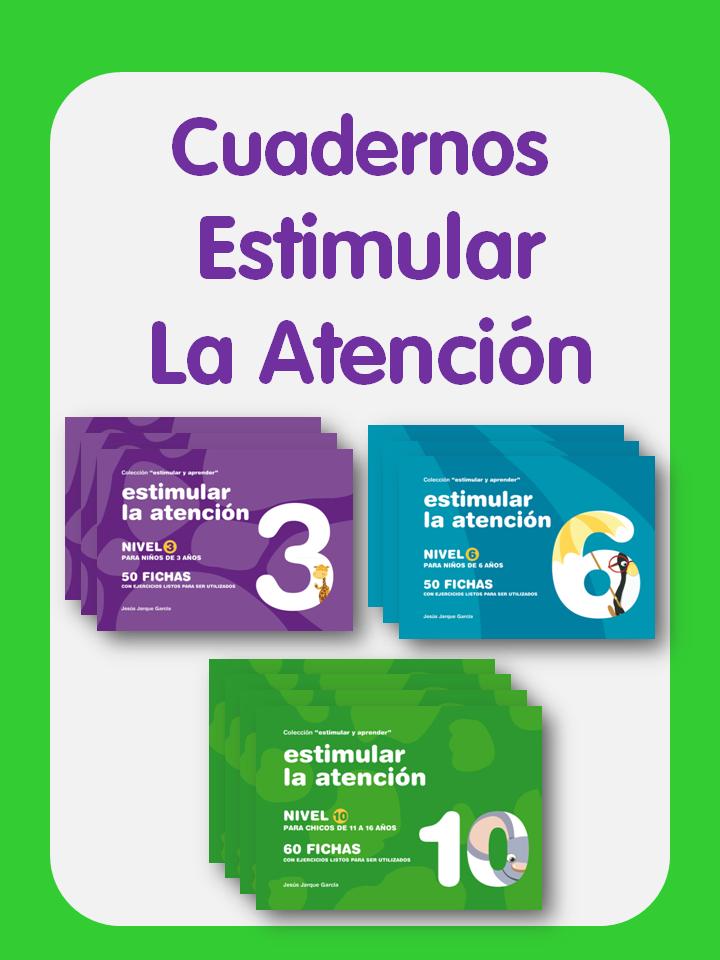 Cuadernos Estimular la atención