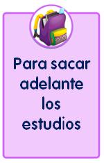 Materiales educativos folleto con consejos para los alumnos sobre los estudios