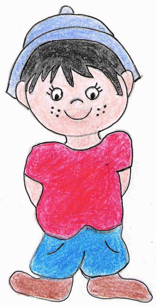 David niño de Primaria personaje de Familia y Cole