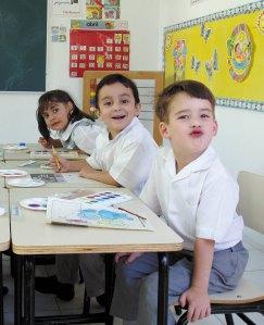 Los niños con TDAH integrados en la escuela