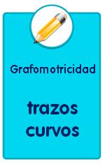 Recursos para descargar de Educación Infantil, fichas de grafomotricidad, trazos curvos