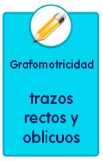 Recursos para descargar de Educación Infantil, fichas de grafomotricidad, trazos rectos y oblicuos