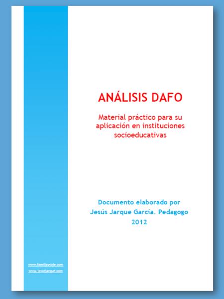 Material para realizar análisis DAFO