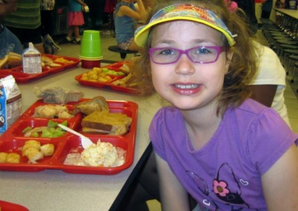 Comer en casa o en el colegio