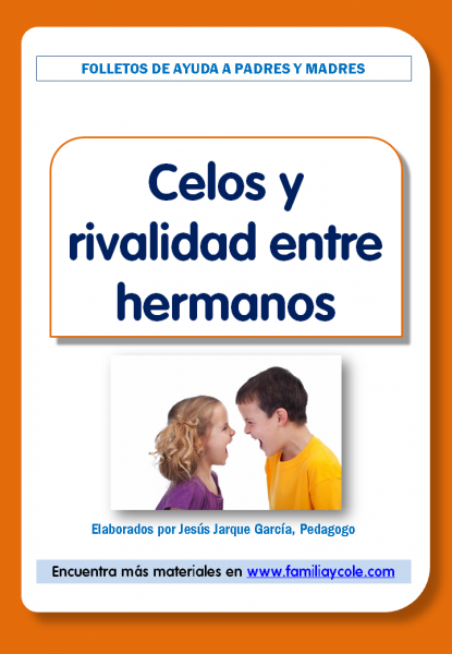 Folleto: celos entre hermanos