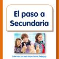El paso a Secundaria, folleto informativo