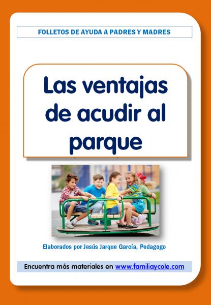 Las ventajas de acudir al parque infantil