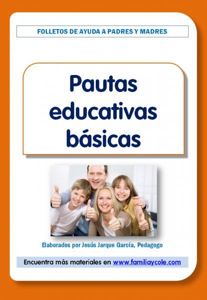 Pautas educativas básicas