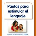Folleto con pautas para estimular el lenguaje en niños