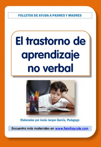 Información sobre el trastorno de aprendizaje no verbal
