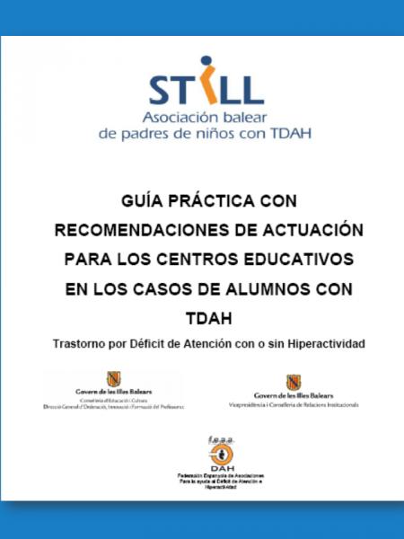 Guía práctica para profesores sobre el TDAH