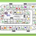 Juego de la oca para aprender las tablas de multiplicar