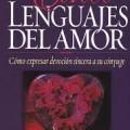 Libro los cinco lenguajes del amor