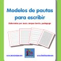 Modelos de pauta para escribir