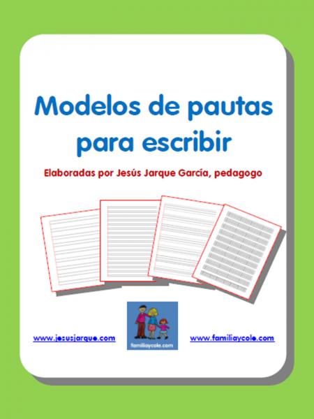 Modelos de pautas para escribir
