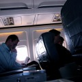 Viajar en avión con niños