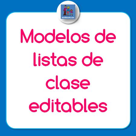 Modelos-de-listas-de-clase