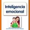 Portada del folleto sobre cómo desarrollar la inteligencia emocional en niños, para descargar e imprimir