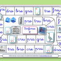 Juegos de la oca para leer trabadas y otras sílabas, aprenderán de una forma divertida