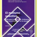 mutismo selectivo, guía para la detección e intervención desde la escuela