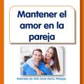 Folleto para imprimir sobre cómo mantener el amor en la pareja