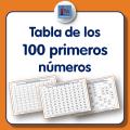 Tablas de los cien primeros números para descargar e imprimir