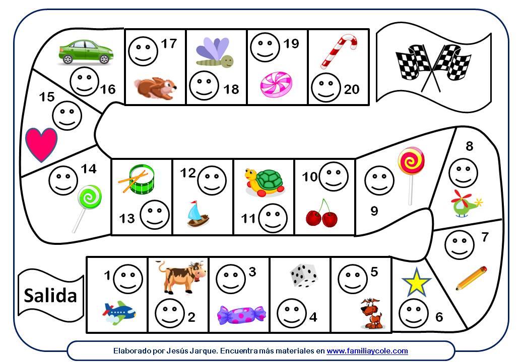 circuito de pegatinas para mejorar la conducta de 20 casillas