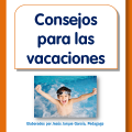Folleto para las familias con consejos para las vacaciones de los niños