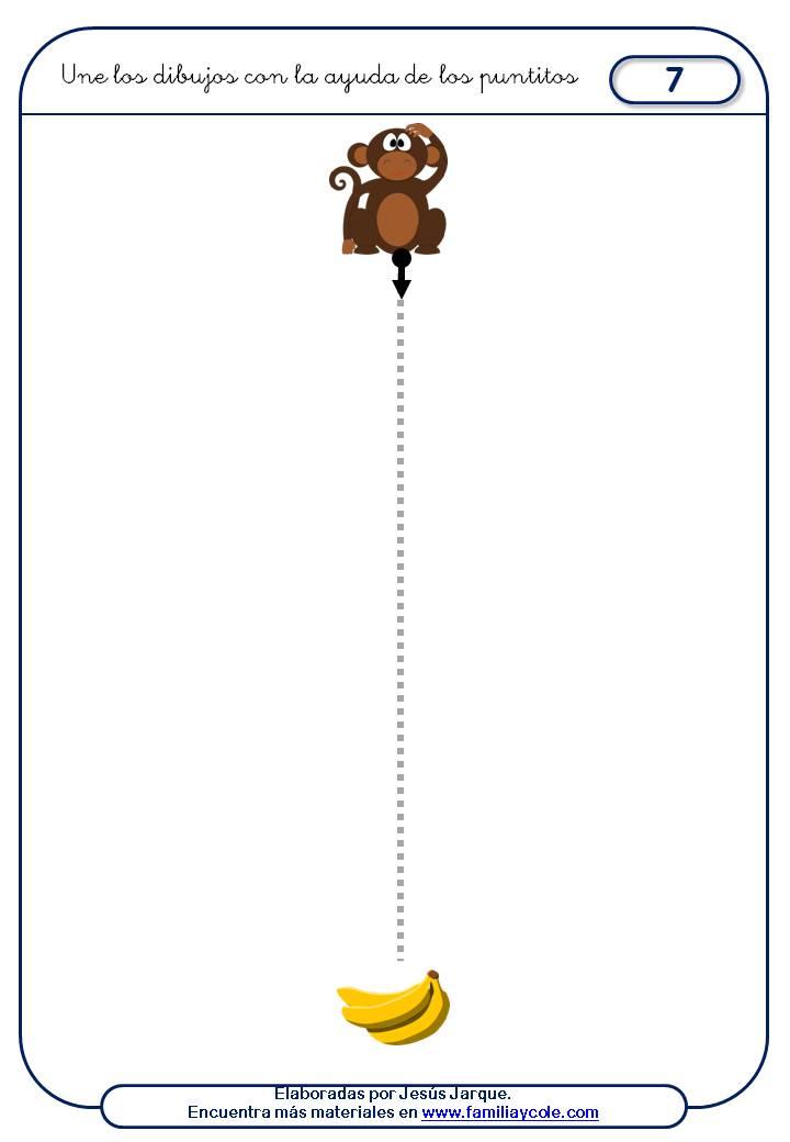 fichas grafomotricidad inicial, trazos verticales