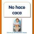 folleto con orientaciones para cuando mi hijo quiere hacer caca