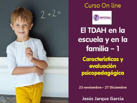 Curso on line sobre el TDAH impartido por Jesús Jarque