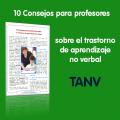 10 consejos para profesores sobre el TANV, trastorno de aprendizaje no verbal