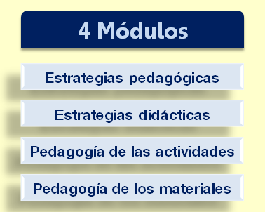 Contenido curso on line pedagogía práctica para el aula