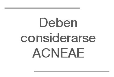 Los alumnos con TANV debe considerarse ACNEAE por presentar dificultades específicas de aprendizaje