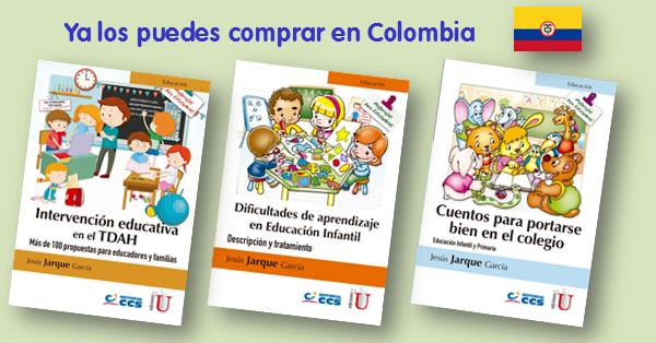 Ya puedes comprar mis libros de Jesús Jarque en Colombia, en ediciones de la U