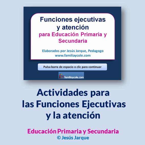 Actividades para las funciones ejecutivas