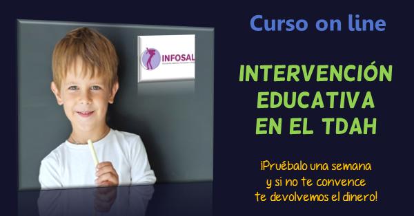 Curso on line Intervención Educativa en el TDAH, por Jesús Jarque