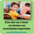 Medidas que propone Jesús Jarque si voy a tener un alumno con necesidades especiales