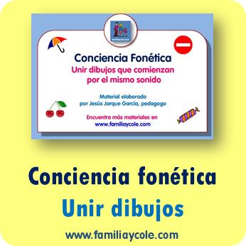 Fichas de conciencia fonética