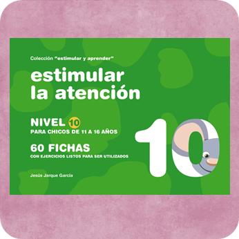 Fichas para trabajar la atención en Secundaria y adultos, publicaciones de Jesús Jarque