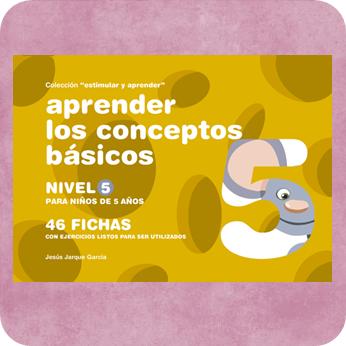 Fichas para trabajar los conceptos básicos, una de las publicaciones de Jesús Jarque