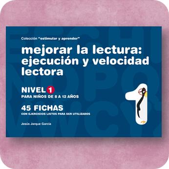 Fichas para mejorar la velocidad lectora, publicaciones de Jesús Jarque