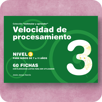 Fichas de velocidad de procesamiento para Educación Primaria, publicaciones de Jesús Jarque