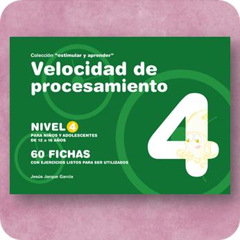 Fichas de Velocidad de Procesamiento para Secundaria, publicaciones de Jesús Jarque