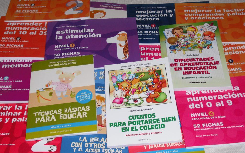 Publicaciones de Jesús Jarque, para familias y profesionales