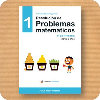 Problemas matemáticos diferentes para Primero de Primaria, publicaciones de Jesús Jarque