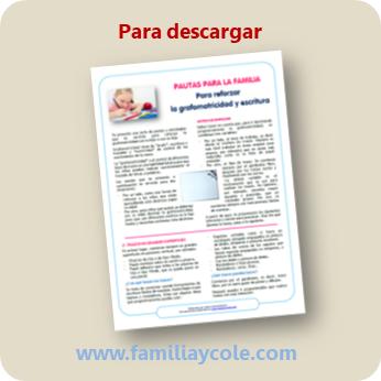 Documento pautas para reforzar la grafomotricidad y la escritura, de Jesús Jarque