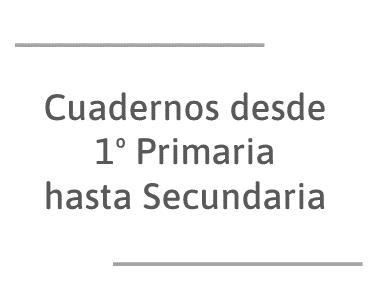 Los cuadernos comprensión instrucciones escritas tienen 5 niveles que van desde 1º de Primaria a Secundaria